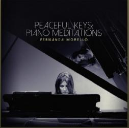 -Peaceful piano keys.